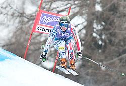 20.01.2011, Tofana, Cortina d Ampezzo, ITA, FIS World Cup Ski Alpin, Lady, Cortina, Abfahrt 2. Training, im Bild Stacey Cook (USA, #27) // Stacey Cook (USA) during FIS Ski Worldcup ladies downhill second training at pista Tofana in Cortina d Ampezzo, Italy on 20/1/2011. EXPA Pictures © 2011, PhotoCredit: EXPA/ J. Groder