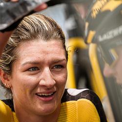 WIJSTER (NED) June 19: <br /> CYCLING <br /> Dutch Nationals Road WOMEN up and around the Col du VAM<br /> Karlijn Swinkels