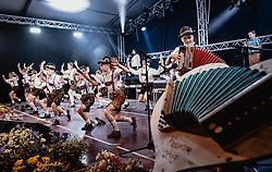 20.06.2019, Baumbar Areal, Kaprun, AUT, Austropop Festival, im Bild Jungmusiker Schuhplattler Gruppe // during the Austropop Music Festival in Kaprun, Austria on 2019/06/20. EXPA Pictures © 2019, PhotoCredit: EXPA/ JFK