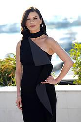 "Catherine Zeta-Jones poses for ""Cocaine Godmother"" photocall during MipCom 2017. 16 Oct 2017 Pictured: Catherine Zeta-Jones. Photo credit: maximon / MEGA TheMegaAgency.com +1 888 505 6342"