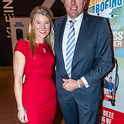 NLD/Rijswijk/20170123 - Premiere Boeing Boeing, Sandra Ysbrandy en partner