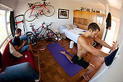 Dan Hugo shares a typical morning of his life with Greg Beadle in images.