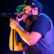 WASHINGTON, DC - April 26th, 2012 -  Canadian recording artist and record producer Abel Tesfaye, pka The Weeknd, performs at the 9:30 Club in Washington, D.C. Tesafaye has released three critically acclaimed mixtapes, including last year's House of Ballloons, which was nominated for the  2011 Polaris Music Prize. (Photo by Kyle Gustafson/For The Washington Post)