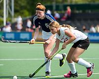 AMSTELVEEN - NK Schoolhockey. Finale Meisjes Jong, tussen Dalton Voorburg en Valuascollege (Venlo). Dalton wint de titel. COPYRIGHT KOEN SUYK