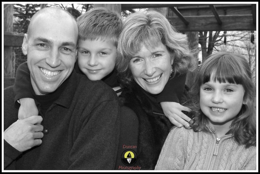 GARDINER Maine 11 /  19 / 06 -- Bourque Family photos Gardiner Town Park ..