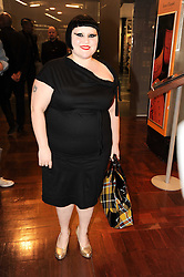 BETH DITTO at a party to celebrate the launch of Bang a new male fragrance by Marc Jacobs held at the Fith Floor Restaurant, Harvey Nichols, Knightsbridge, London on 22nd July 2010.