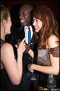 SIDNEY FINCH; OSWALD BOATENG; Olga Kurylenko, Liberatum Cultural Honour for Francis Ford Coppola<br /> with Bulgari Hotel & Residences, London. 17 November 2014