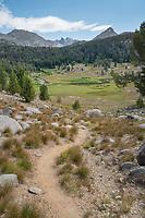 Fremont Trail at East Fork River.Bridger Wilderness, Wind River Range Wyoming