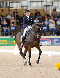 Peters Steffen (USA) - Ravel<br /> Exquis World Dressage Masters - Wellington 2010<br /> © Hippo Foto - Cealy Tetly