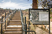 Stairs at Hilltop Conservation Park in Dana Point