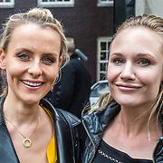 NLD/Amsterdam/20150602 - Talkies Terras award 2016, schoonzus Floor Schothorst en Kimberly Klaver