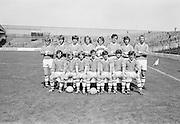13.08.1972 Football All Minor Semi Final. Cork Vs Galway.Cork Team