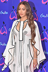 © Licensed to London News Pictures. 25/08/2021. London, UK. MUNROE BERGDORF arrives for the gala performance of Andrew Lloyd Webber's Cinderella showing at the Gillian Theatre, Dury Lane. Photo credit: Ray Tang/LNP