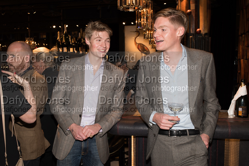 WILLIAM CARBUTT-TODD; ALEX CARBUTT-TODD, Timothy Oulton Flagship Gallery Grand Opening, Timothy Oulton Bluebird, 350 King's Rd. Chelsea, London.  19 September 2018