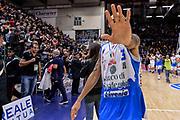 DESCRIZIONE : Campionato 2015/16 Serie A Beko Dinamo Banco di Sardegna Sassari - Consultinvest VL Pesaro<br /> GIOCATORE : David Logan<br /> CATEGORIA : Ritratto Esultanza Postgame<br /> SQUADRA : Dinamo Banco di Sardegna Sassari<br /> EVENTO : LegaBasket Serie A Beko 2015/2016<br /> GARA : Dinamo Banco di Sardegna Sassari - Consultinvest VL Pesaro<br /> DATA : 23/11/2015<br /> SPORT : Pallacanestro <br /> AUTORE : Agenzia Ciamillo-Castoria/L.Canu