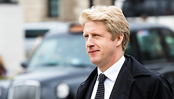 Westminster, London, March 1st 2017. Universities and Science Minister Jo Johnson, brother of Foreign Secretary Boris Johnson spotted outside Parliament, in Westminster.