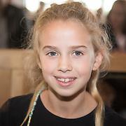 NLD/Utrecht/20161009 - Premiere De Club van Sinterklaas & Geblaf op de Pakjesboot , Vlinder Kamerling (dochter Isa Hoes)