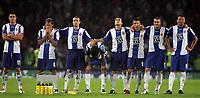 Photo: Paul Thomas.<br /> Espanyol v Sevilla. UEFA Cup Final. 16/05/2007.<br /> <br /> Espanyol dejectetion.