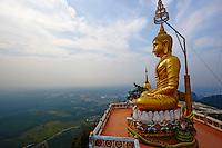 Thailande, province de Krabi, Wat Tham Sua // Thailand, Krabi province, Wat Tham Sua