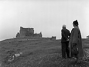 01/02/1957<br /> 02/01/1957<br /> 01 February 1957<br /> View of the Rock of Cashel, Cashel, Co. Tipperary.