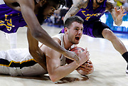 during an NAIA Championship tournament semi-final basketball game on Monday, March 19, 2018, in Kansas City, Mo. (AP Photo/Colin E. Braley)