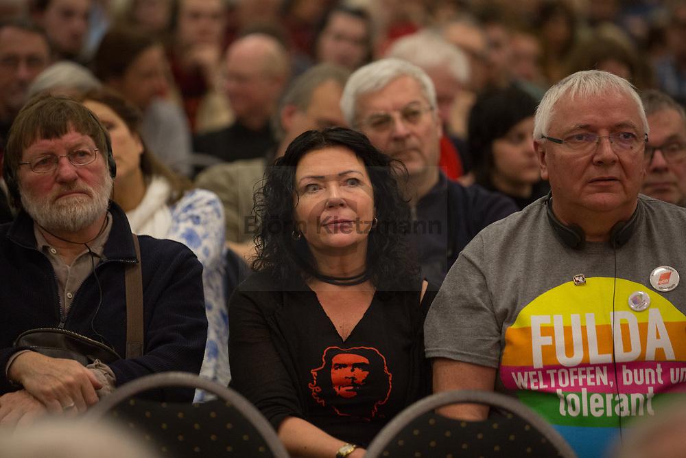 Berlin, Germany - 13.01.2018<br /> <br /> Eindruecke von der Rosa Luxemburg Konferenz 2018 im MOA Bogen Berlin.<br /> <br /> Photo: Bjoern Kietzmann