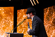 Brussels , 01/02/2020 : Les Magritte du Cinema . The Academie Andre Delvaux and the RTBF, producer and TV channel , present the 10th Ceremony of the Magritte Awards at the Square in Brussels .<br /> Pix: Olivier Masset-Depasse<br /> Credit : Alexis Haulot - Dana Le Lardic - Didier Bauwerarts - Frédéric Sierakowski - Olivier Polet / Isopix