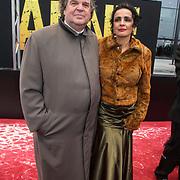 NLD/Amsterdam/20140508 - Wereldpremiere Musical Anne, A.F.Th. van der Heijden en partner
