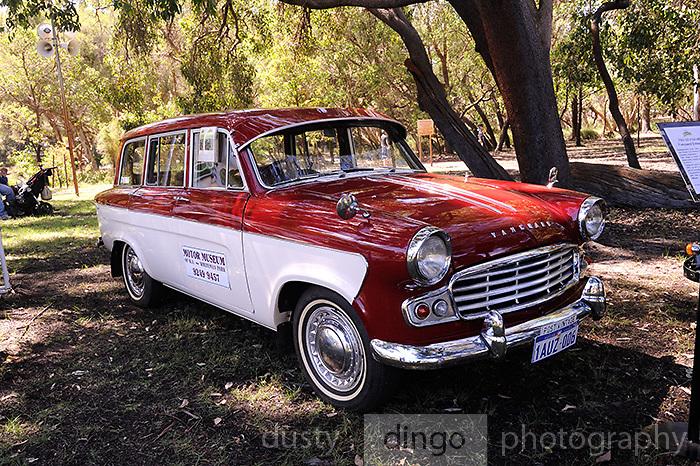 1963 Vanguard Standard Estate (Station Wagon). <br /> 2011 Classic Car Show, Whiteman Park, Perth, Western Australia. March 20, 2011