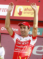 09.09.2011, Andalusien, ESP, LA VUELTA 2011, 18. Etappe, im Bild David Moncoutie during the stage of La Vuelta 2011 between Solares and Noja.September 8,2011. EXPA Pictures © 2011, PhotoCredit: EXPA/ Alterphoto/ Paola Otero +++++ ATTENTION - OUT OF SPAIN/(ESP) +++++