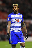 Reading midfielder Leandro Bacuna (19) during the EFL Sky Bet Championship match between Nottingham Forest and Reading at the City Ground, Nottingham, England on 20 February 2018. Picture by Jon Hobley.