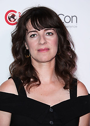 CinemaCon 2018 - Lionsgate Presentation held at The Colosseum at Caesars Palace during CinemaCon, the official convention of the National Association of Theatre Owners on April 26, 2018 in Las Vegas, Nevada, United States. 26 Apr 2018 Pictured: Susanna Fogel. Photo credit: Xavier Collin/Image Press Agency / MEGA TheMegaAgency.com +1 888 505 6342