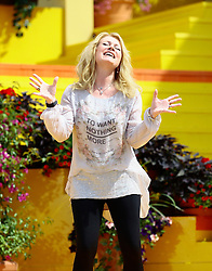 """14.06.2015, Europapark, Rust, GER, ARD TV Show, Immer wieder Sonntags, im Bild Nicole (Saengerin) // during the ARD TV Show """"Immer wieder Sonntags"""" at the Europapark in Rust, Germany on 2015/06/14. EXPA Pictures © 2015, PhotoCredit: EXPA/ Eibner-Pressefoto/ Goermer<br /> <br /> *****ATTENTION - OUT of GER*****"""