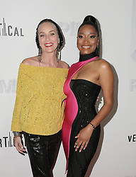 """Premiere of """"Pimp"""" held at Pacific Theatres at The Grove on November 7, 2018 in Los Angeles, California. 07 Nov 2018 Pictured: Sharon Stone, Keke Palmer. Photo credit: @parisamichelle / MEGA TheMegaAgency.com +1 888 505 6342"""