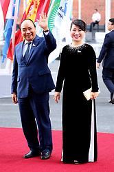 July 7, 2017 - Hamburg, Hamburg, Deutschland - Nguyen Xuan Phuc mit Gattin bei der Ankunft zu einem Konzert in der Elbphilharmonie im Rahmen des G20-Gipfel. Hamurg, 07.07.2017 (Credit Image: © Future-Image via ZUMA Press)