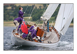 Day three of the Fife Regatta, Cruise up the Kyles of Bute to Tighnabruaich<br /> Sonata, Patrick  Caiger-Smith, GBR, Bermudan Sloop, Wm Fife 3rd, 1950<br /> <br /> * The William Fife designed Yachts return to the birthplace of these historic yachts, the Scotland's pre-eminent yacht designer and builder for the 4th Fife Regatta on the Clyde 28th June–5th July 2013<br /> <br /> More information is available on the website: www.fiferegatta.com