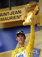 Sykkel<br /> Tour de France 2010<br /> 13.07.2010<br /> Foto: PhotoNews/Digitalsport<br /> NORWAY ONLY<br /> <br /> ANDY SCHLECK<br /> <br /> ETAPE 9 : MORZINE AVORIAZ - SAINT-JEAN-DE-MAURIENNE
