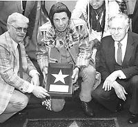 1983 Iron Eyes Cody's Walk of Fame ceremony