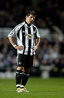 Photo: Jed Wee.<br /> Newcastle United v Charlton Athletic. The Barclays Premiership. 22/02/2006.<br /> <br /> Newcastle's Emre shows his disappointment at the end of the dour first half.