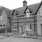 Brick Cottage - Avebury, UK - Black & White