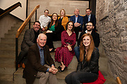 02/04/2019 Repro free:  <br /> Back Row Mark Quick, Founding Director 9th Impact and Founding Director, Nephin Whiskey, Nicola Barrett, Senior Marketing Managerat Connacht Rugby, Mary Rodgers- Innovation Community Managerat the Portershed Joe Smyth- VP of R&D at Genesys and Cathal Ennis SBP.<br /> Front from left Kenneth Deery AIB, Frank Greene is Chairman of Galway Technology Centre, Niamh Costello GTC General Manager, Giovanni Tummarello- Founder and CPOat Siren and  Kathryn Harnett- Senior Consultantat Milltown Partners LLP, at Harvest in the Mick Lally Theatre , an opportunity to share ideas for innovation and growth and discuss how to cultivate the city as a destination for innovation, hosted by GTC  and Sponsored by AIB and The Sunday Business Post . Photo: Andrew Downes, Xposure<br /> <br /> <br /> <br /> <br /> A keynote address Start Up to Multinational - Positioning & Marketing Software for an International Audience from Joe Smyth, VP of R&D at Genesysat Genesys and a Panel Discussion on International Growth Through Innovation and Positioning<br /> Mary Rodgers- Innovation Community Managerat the Portershed (moderator)<br /> Kathryn Harnett- Senior Consultantat Milltown Partners LLP, Giovanni Tummarello, Founder and CPOat Siren,  Mark Quick, Founding Director 9th Impact and Founding Director, Nephin Whiskey, Nicola Barrett, Senior Marketing Managerat Connacht Rugby