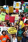 Belo Horizonte_MG, 18 de Junho de 2011..UOL - MARCHA DA LIBERDADE..Manifestantes da Marcha da Liberdade se concentram na Praca da Estacao,na região central.Os manifestantes passaram pelas principais ruas do centro e caminharam ate a praca da liberdade.O ato acontece em mais 41 cidades brasileiras, e organizado por mais de 100 organizacoes, entre elas a ALGBT (Associacao Brasileira de Gays Lesbicas e Transexuais), a Marcha Mundial de Mulheres,entre outros...FOTO: MARCUS DESIMONI / NITRO..............