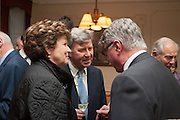 LADY GUTHRIE; DAVID ROSIER; CHRISTOPHER JOLL, Book launch for The Speedicut Papers, edited by Christopher Joll.- Bucks Club, Clifford St. London W1.