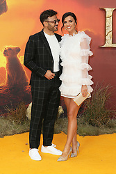 The European Premiere of 'The Lion King' held at the Odeon Luxe, Leicester Square - Arrivals. 14 Jul 2019 Pictured: Ryan Thomas, Lucy Mecklenburgh. Photo credit: Mario Mitsis / MEGA TheMegaAgency.com +1 888 505 6342