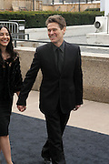 r to l: Willem Dafoe and Guest arrives at The Metropolitan Opera's 125th Anniversary Gala and Placido Domingo's 40th Anniversary Celebration underwritten by Yves Saint Laurent held at The Metropolitian Opera House, Lincoln Center on March 15, 2009 in New York City.