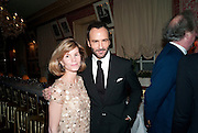 ANNA CARTER; TOM FORD, Graydon Carter hosts a diner for Tom Ford to celebrate the London premiere of ' A Single Man' Harry's Bar. South Audley St. London. 1 February 2010