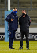 Sale Sharks Director of Rugby Alex Sanderson before a Gallagher Premiership Round 11 Rugby Union match, Friday, Feb 26, 2021, in Eccles, United Kingdom. (Steve Flynn/Image of Sport)