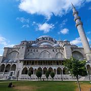 Suleymaniye Mosque Courtyard, Istanbul