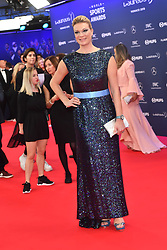 February 18, 2019 - Monaco, Monaco - Maria Hofl arriving at the 2019 Laureus World Sports Awards on February 18, 2019 in Monaco  (Credit Image: © Famous/Ace Pictures via ZUMA Press)