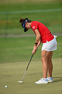 Emma Talley (USA) watches her putt on 2 during round 2 of the 2020 ANA Inspiration, Mission Hills C.C., Rancho Mirage, California, USA. 9/11/2020.<br /> Picture: Golffile | Ken Murray<br /> <br /> All photo usage must carry mandatory copyright credit (© Golffile | Ken Murray)